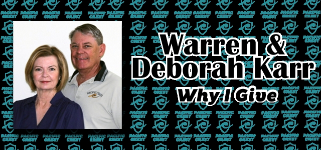Why I Give: Warren and Deborah Karr