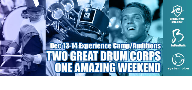 Pacific Crest and Blue Devils Collaborate to Present December Camp/Auditions