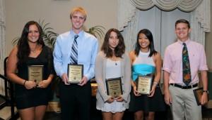 Outstanding Members award recipients: