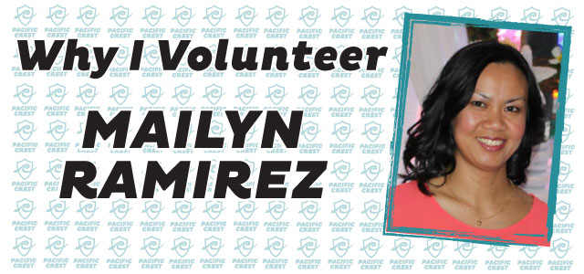 Why I Volunteer: Mailyn Ramirez