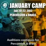Registration Open: January Camp