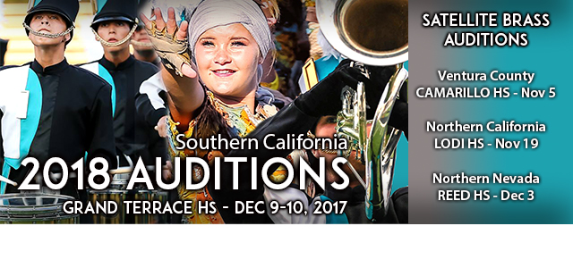 2018 Audition Information Now Live