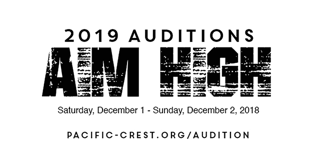 2019 Audition Information Now Live