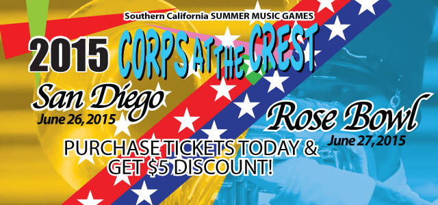 Tickets On Sale: Corps at the Crest