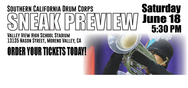 Tickets On Sale: 2016 So Cal Sneak Preview