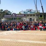 Local Students Go Behind the Scenes at the Rose Bowl