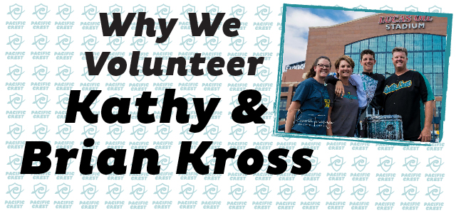 Why I Volunteer: Kathy and Brain Kross